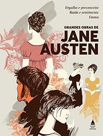 Grandes Obras De Jane Austen - Este boxe traz as três obras mais importantes da carreira da escritora inglesa, uma das mais populares da literatura mundial.